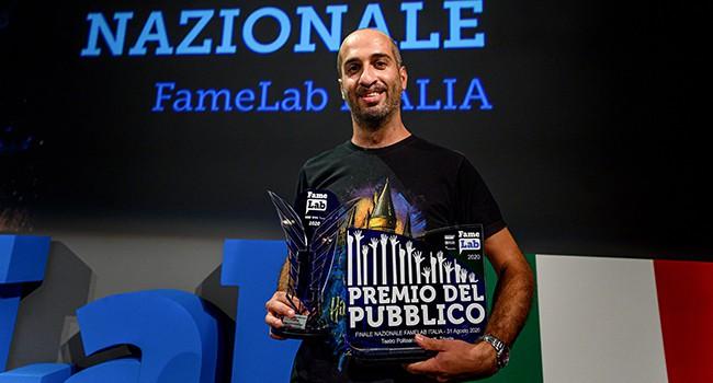 Finale italiana di Famelab 2020. Trieste